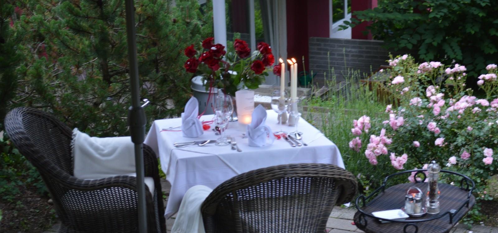 Gartenromantik - Landidyllhotel Nudelbacher