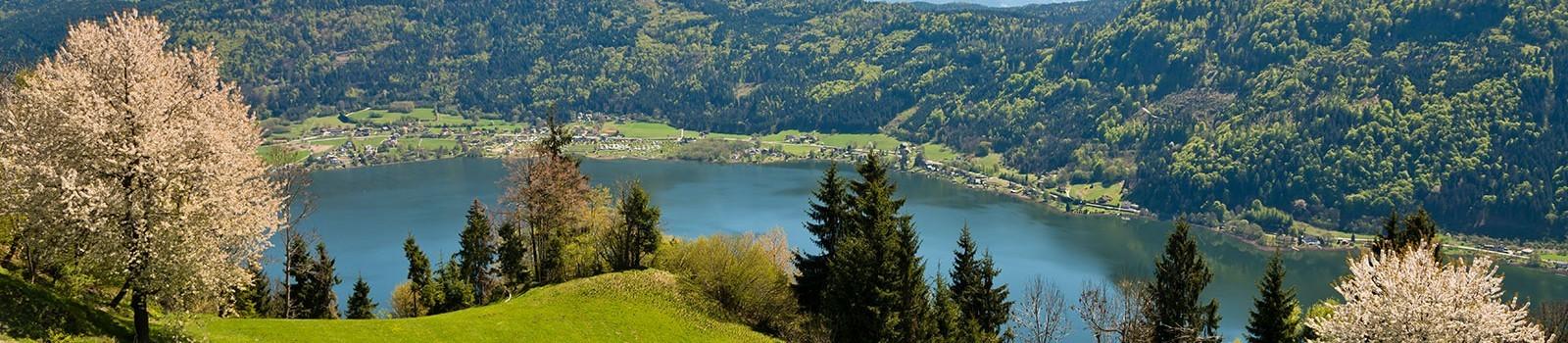 Frühling in Kärnten-Ossiacher See- Hotel Nudelbacher Feldkirchen