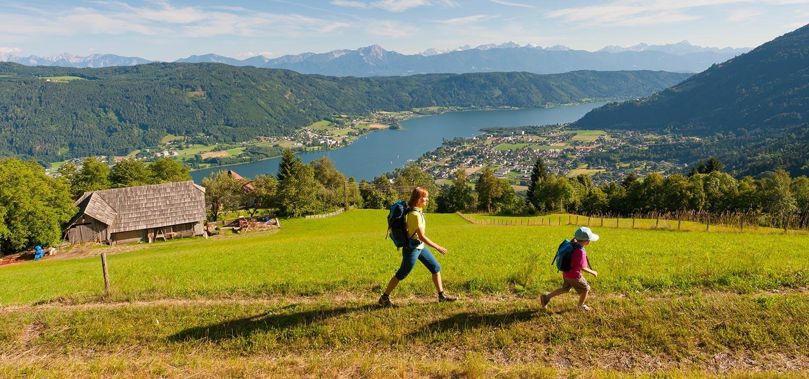 Wandern am Ossiacher-See
