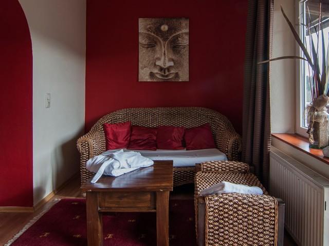 Buddha Lounge Wohnbereich