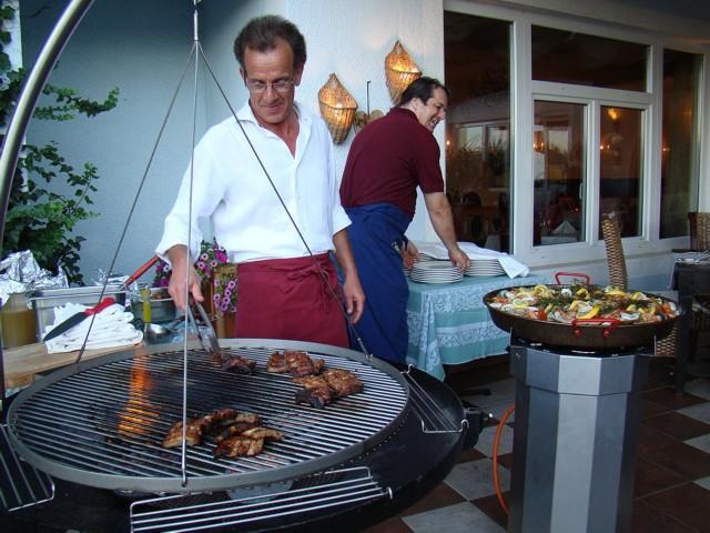Paella schmeckt auch in Kärnten