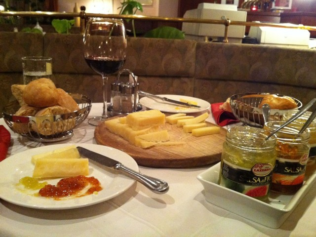 Käsedessert - Restaurant Hotel Nudelbacher Feldkirchen - Ossiacher See