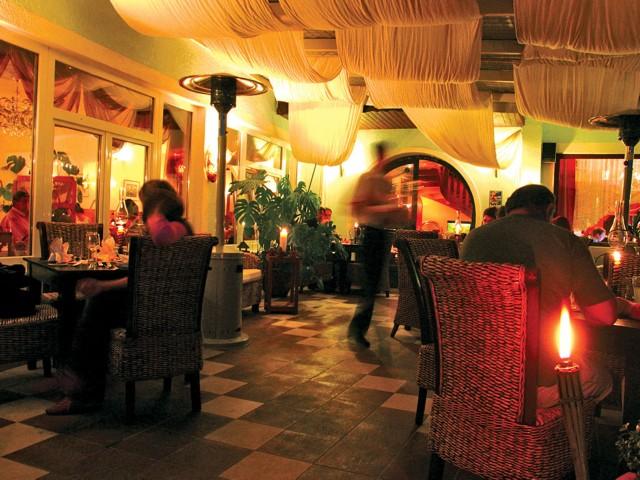 Nachtzauber auf der Terrasse - Restaurant Hotel Nudelbacher Feldkirchen - Ossiacher See
