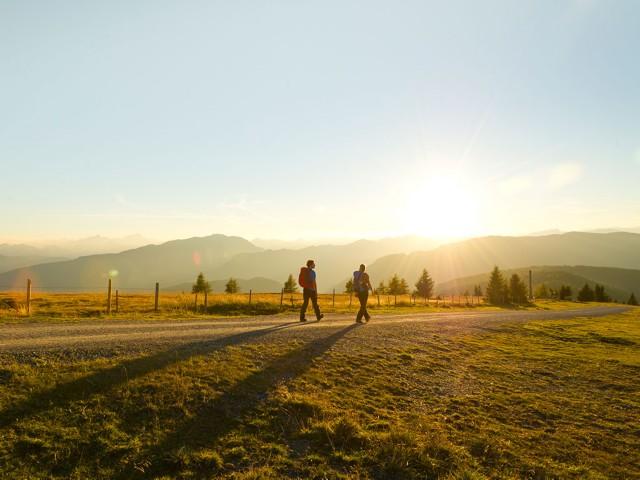 Wandern auf der Gerlitzen Alpe