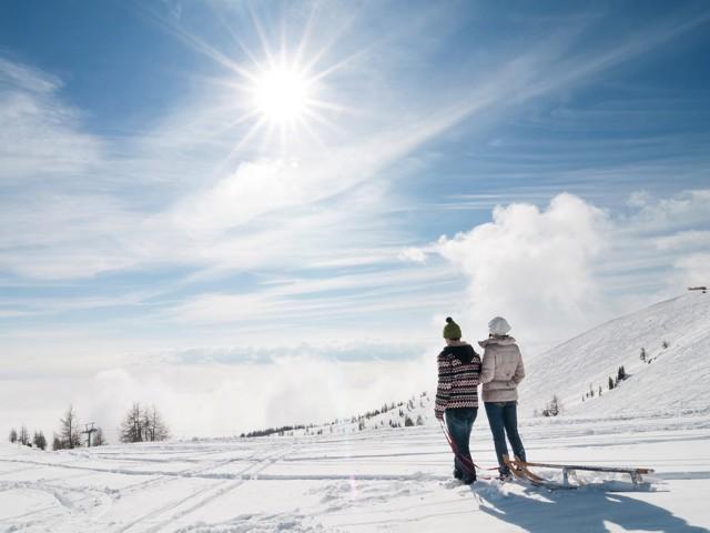 Winterwandern auf der Gerlitzen Alpe
