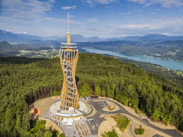 Größte Holzplattform Pyramidenkogel